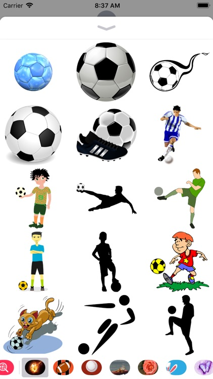 Soccer Stickers - 2018