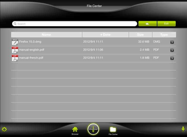 xDownload HD screenshot-3