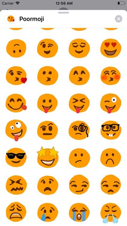 Poorly Drawn Emoji - Poormoji