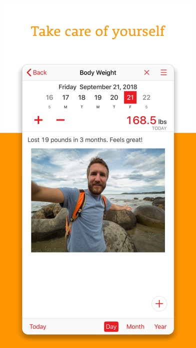 Fitness Tracker+ Workout Plan app image