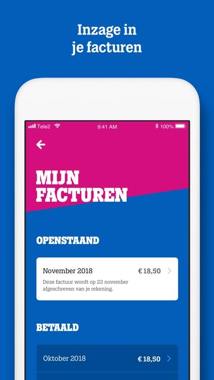 MijnTele2 App screenshot-4