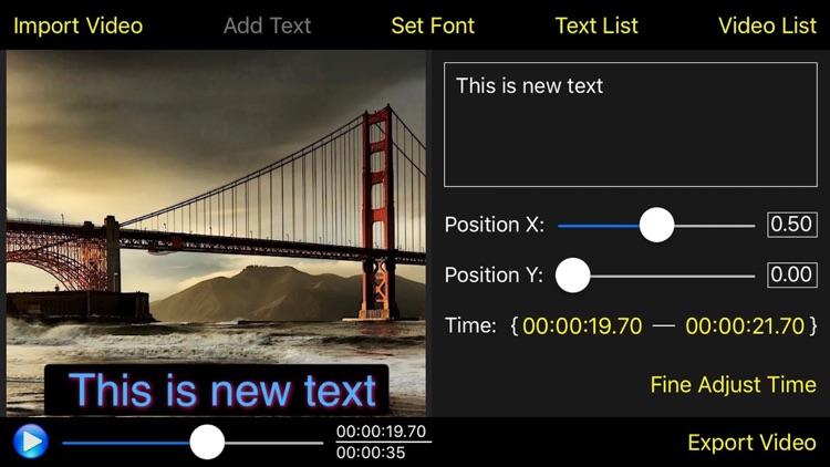 Video Subtitle Edit Lite - Video Text Editor