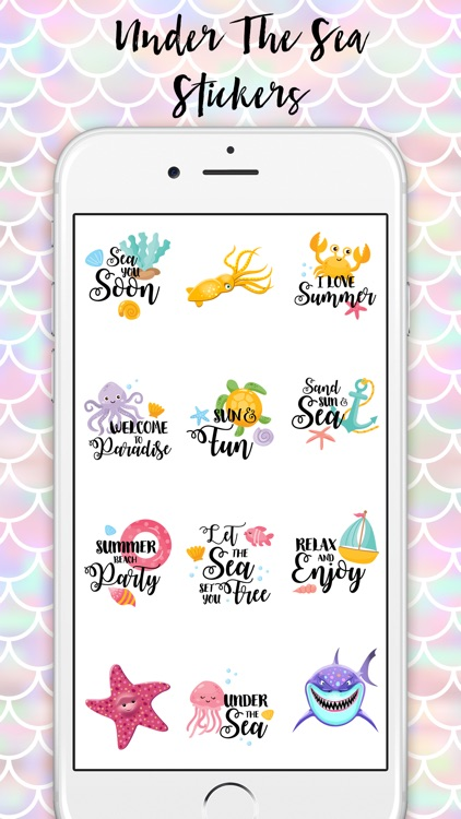 Under The Sea Stickers Pack