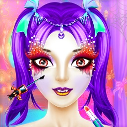 Halloween Princess Makeover 2D