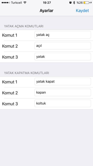 AKS - Akıllı Koltuk Sistemi Screenshot