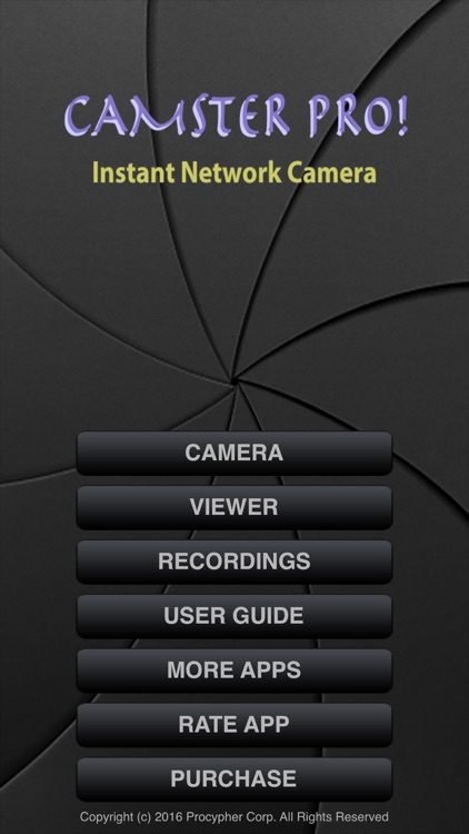 Camster! Instant Network Cam screenshot-4