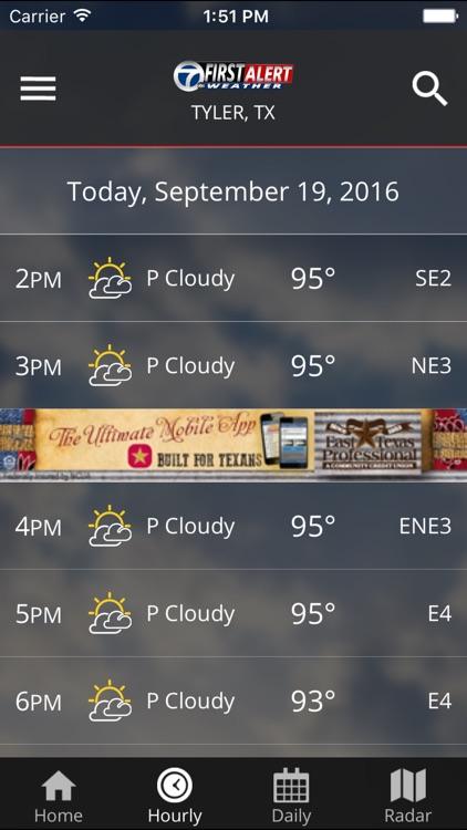 KLTV First Alert Weather screenshot-4