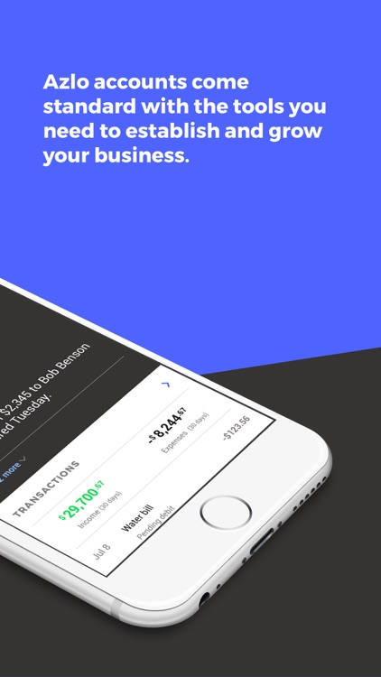 Azlo - No-Fee Business Banking – 2 16 0 – (iOS Apps) — AppAgg com