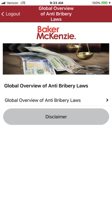 Global Anti-Bribery Laws screenshot one
