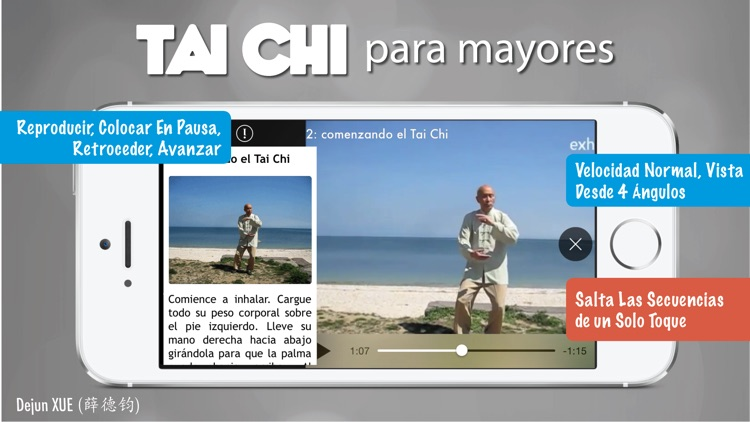 Tai Chi para Mayores Pro screenshot-4