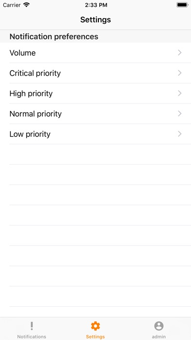 Image of Notification Receiver for iPhone