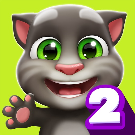 My Talking Tom 2 app for iphone