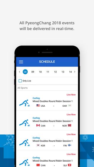 PyeongChang 2018 — табло Олимпиады