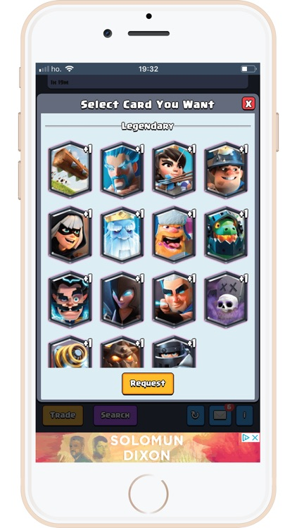 Cards Trade for Clash Royale