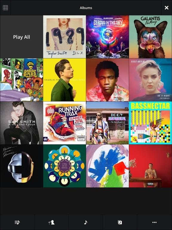 Stezza Music Player Screenshots