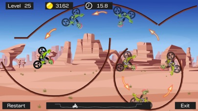 Screenshot #1 pour Top Bike Lite-Motorcycle Stunt