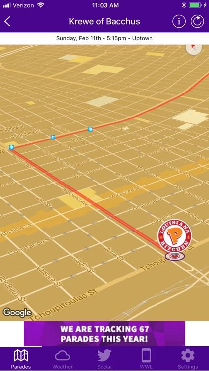 WWL Mardi Gras Parade Tracker screenshot-4