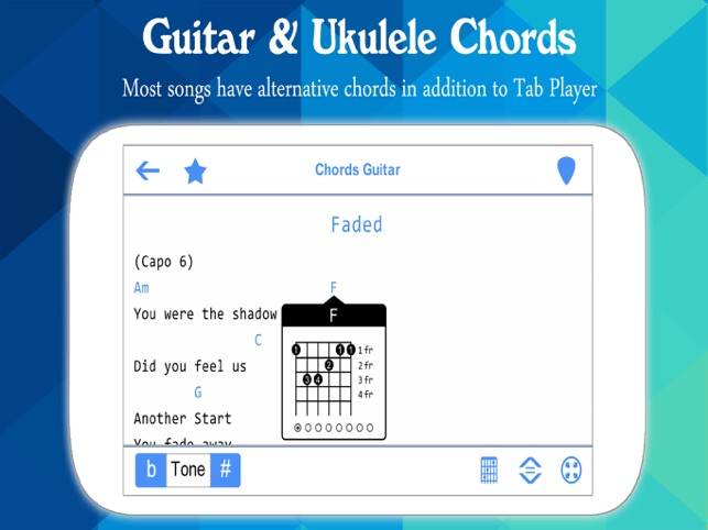 Perfect Guitar Tabs Chords On The App Store