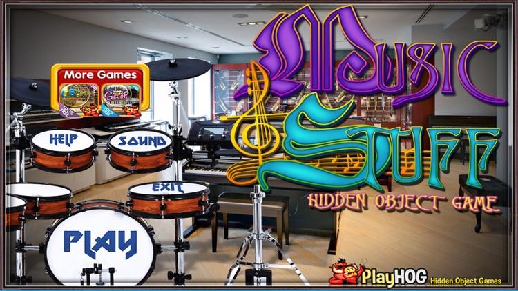 Music and Stuff Hidden Objects screenshot-3