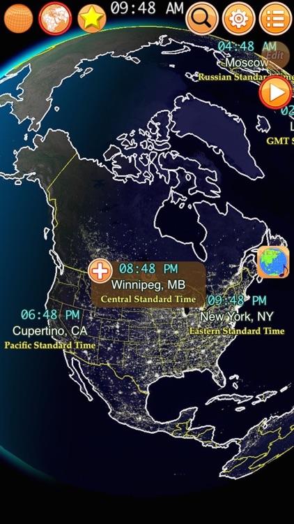 Clocks of Cities Pro screenshot-3