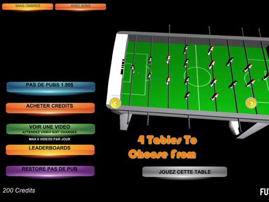 Table Soccer Foosball 3D screenshot 8