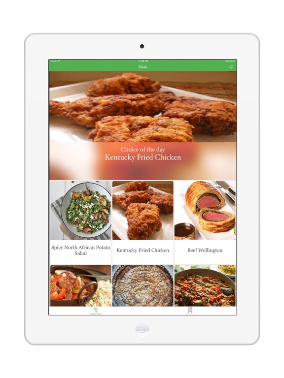 Screenshot #1 for Easy Meal Recipes Menu Planner
