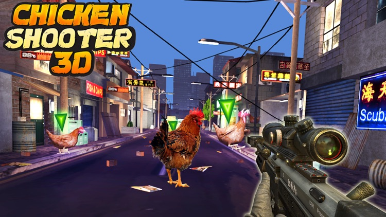 Crazy Chicken Shooting Pro