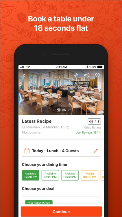 EazyDiner - Table Reservations