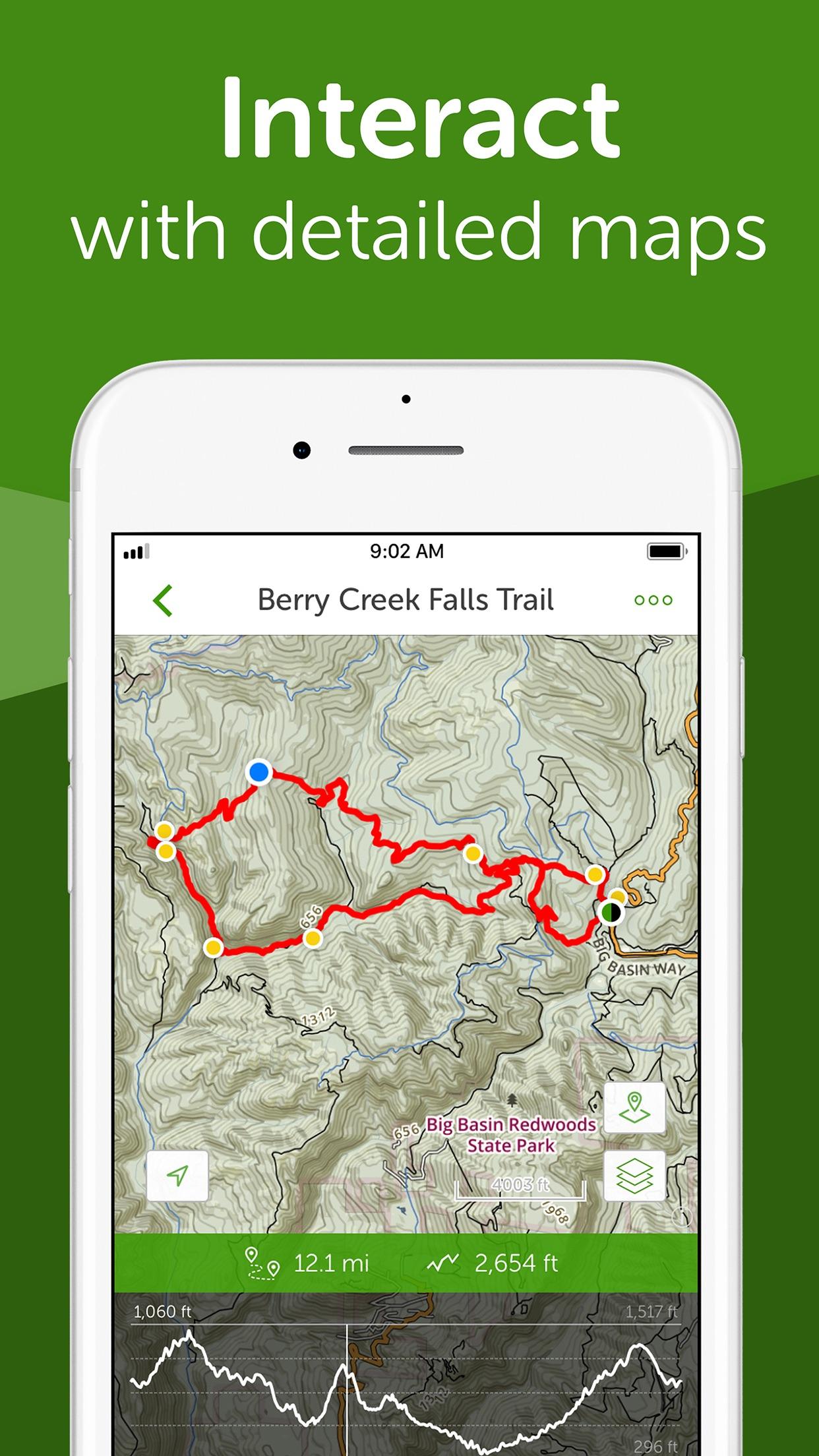 AllTrails: Hike, Run & Cycle Screenshot