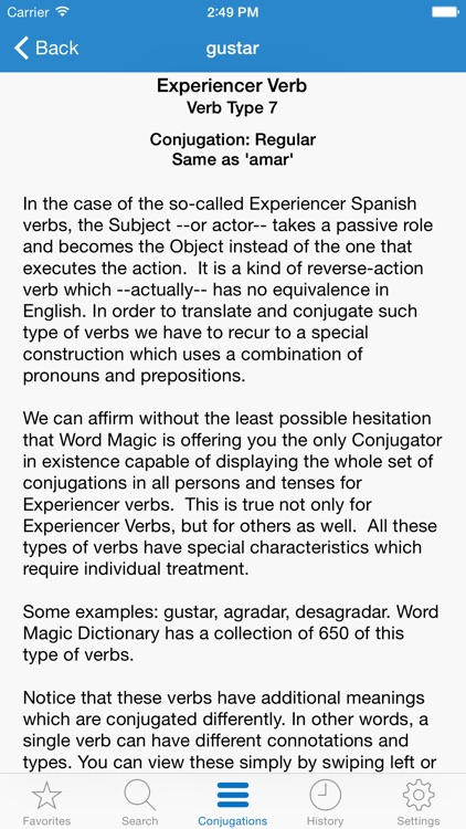 English Spanish Verbs screenshot-3