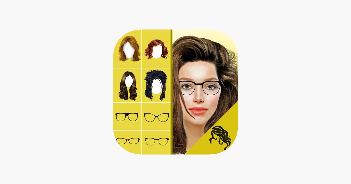 Hair Style Changer App Women Men Makeover On The App Store