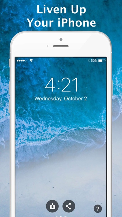 Live Wallpapers for iPhone HD screenshot-3