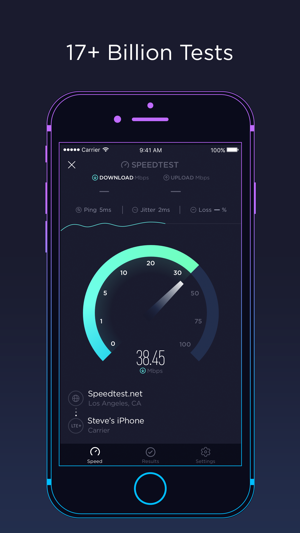 Speedtest by ookla on the app store screenshots stopboris Images