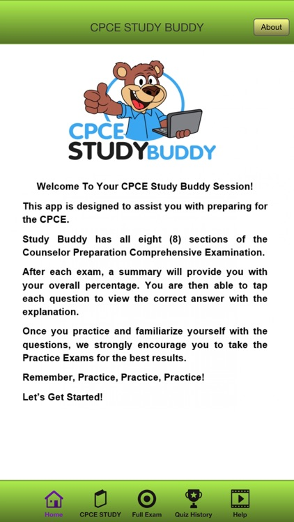 CPCE STUDY BUDDY