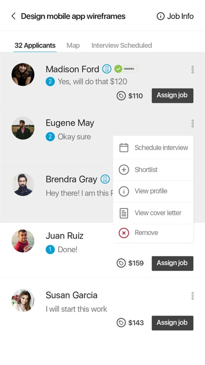 Bravatech RMS Freelancing App screenshot-2