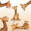 Cute Giraffe Animal Stickers for iMessage