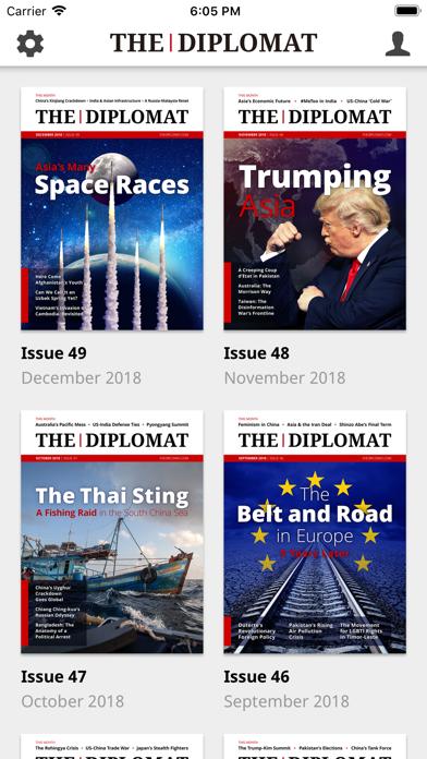 The Diplomat screenshot one
