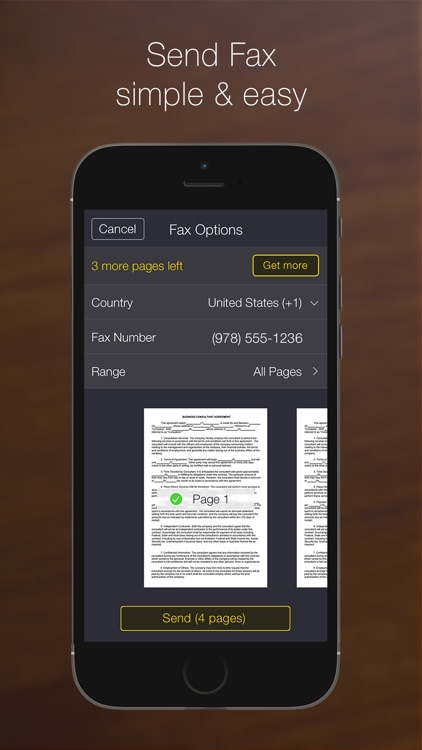 My Scans PRO, pdf scanner app screenshot-4