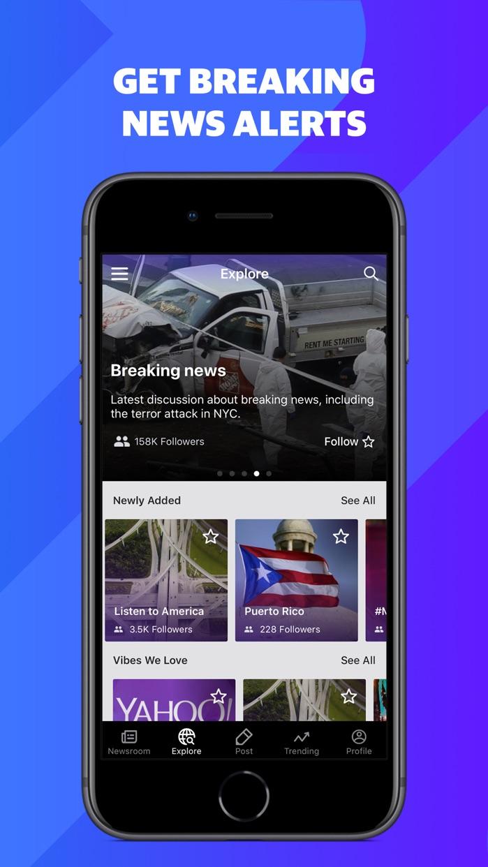 Newsroom - News worth sharing Screenshot