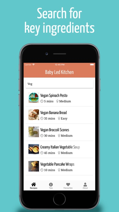 Baby Led Kitchen Screenshot