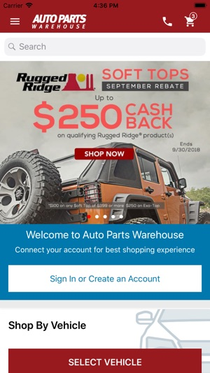 Auto Parts Warehouse On The App Store