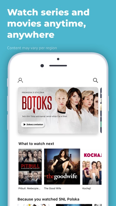 Screenshot for Showmax in South Africa App Store