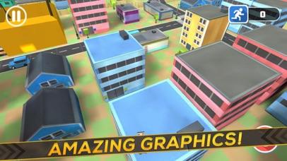 3D Block Man City Puzzle screenshot two