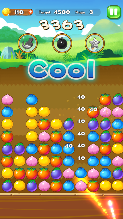 Puzzle Fruit - Tap Block Games screenshot three