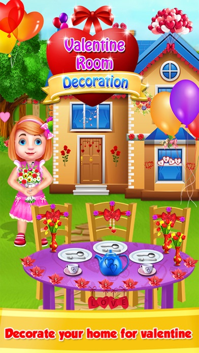 Valentine Day Room Decoration Games