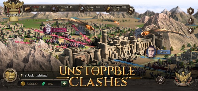 Immortal Conquest-War Strategy on the App Store