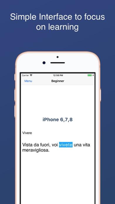 Italian Irregular Verbs screenshot three