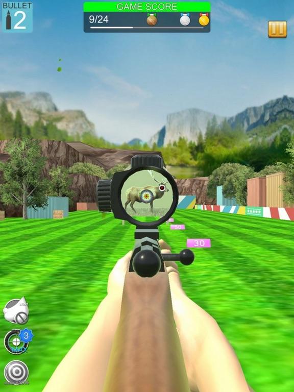 Shooting Deer Range Short Gun screenshot 4