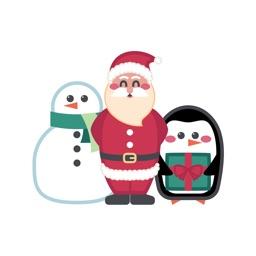 Santa & Friends Sticker Pack