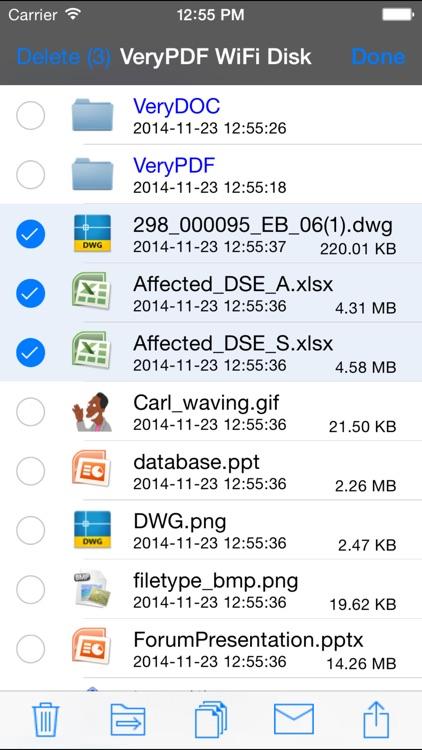 VeryPDF WiFi Disk